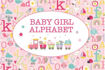 Baby Girl Alphabet