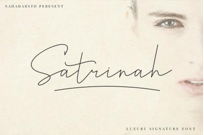 Satrinah Signature