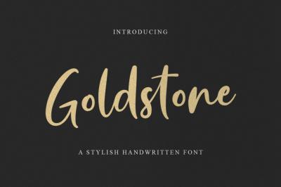 Goldstone - A Stylish Handwritten Font