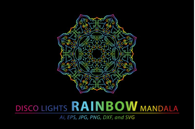 Mandala Rainbow