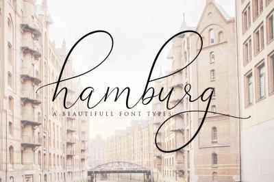 Hamburg Love Font Pretty