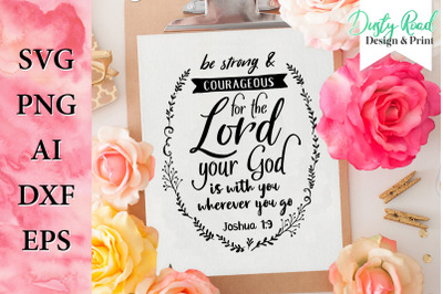 svg & png - bible verse cut file
