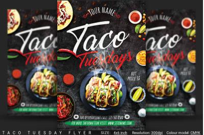 Taco Tuesday Flyer