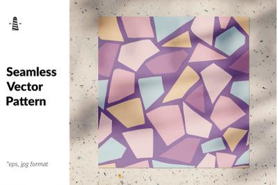 Pastel mosaic seamless pattern