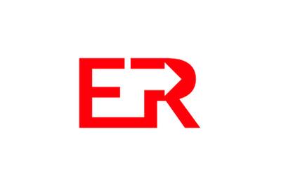 er letter logo