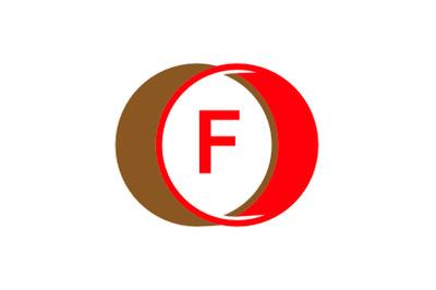 f letter circle logo