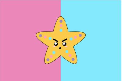 Kawaii Cute Star Fish