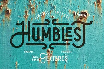 Humblest Font + Textures