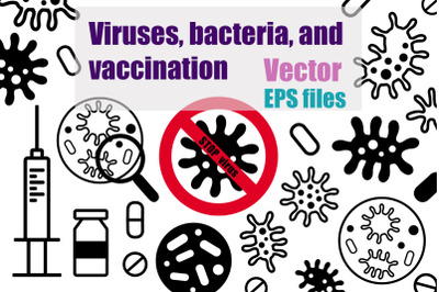 Viruses, bacteria, and vaccination