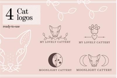 4 cat logo