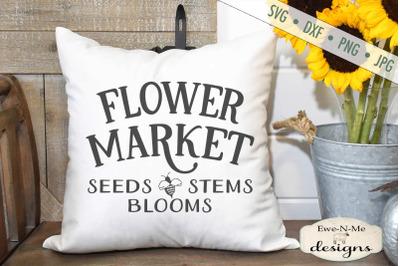 Flower Market - Bee - SVG File