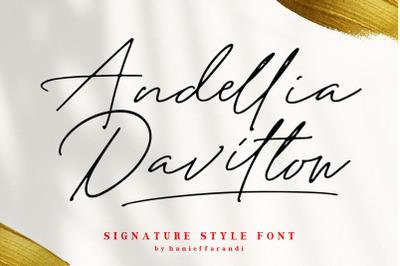 Andellia Davilton -DISCOUNT 50$-