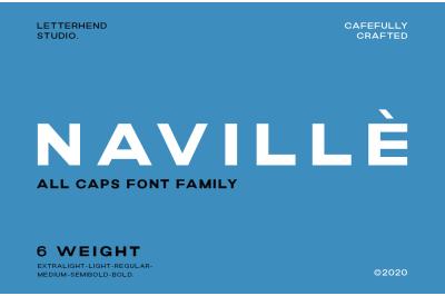 Navill Family - 6 Fonts