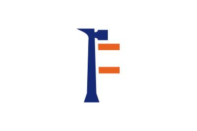 f letter repair logo