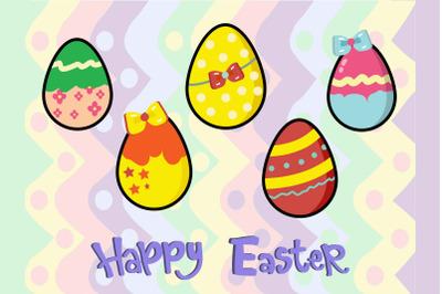 Easter Egg Art Bundle