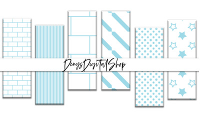 Bookmarks Digital, Light Bluer Digital Bookmarks