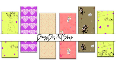 Digital Cats Papers, Digital Cats Bookmarks