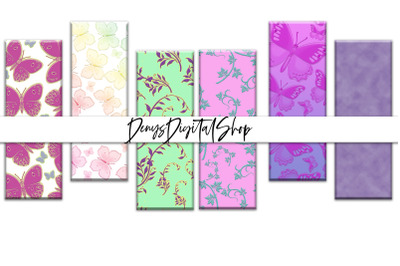 Digital Spring Bookmarks, Bookmarks Digital Printable