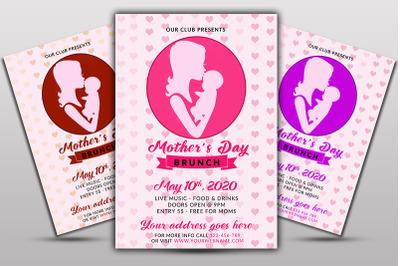 Mother Day Brunch Flyer