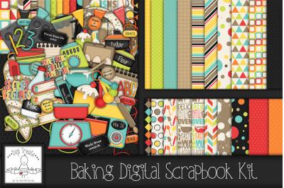 Baking Digital Scrapbook Kit