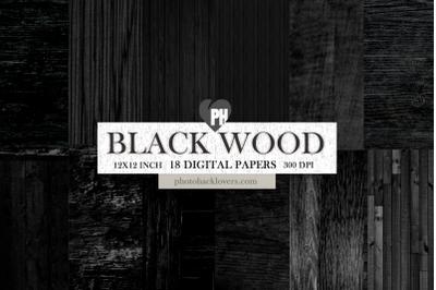 Black Wood Textures