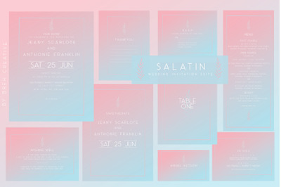 SALATIN Wedding Invitation