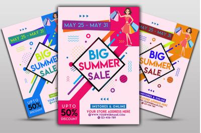 BigSummer Sale Flyer