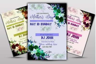 Mother Day Event Flyer