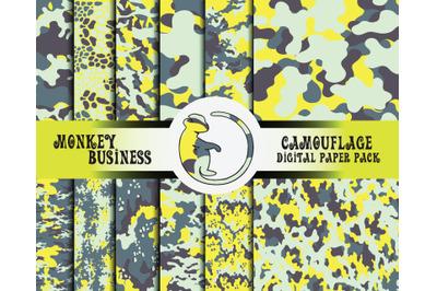 Monkey Camouflage Design 34 Design Products Thehungryjpeg Com