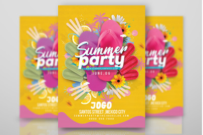 Seasonal Summer Party