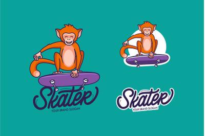 Funny Monkey, cartoon character