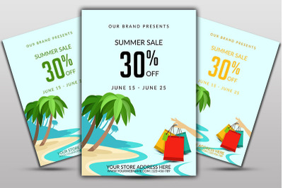 BigSummer Sale Flyer Template