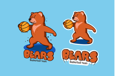 Funny Bear, cartoon character