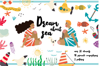 Dream about Sea set