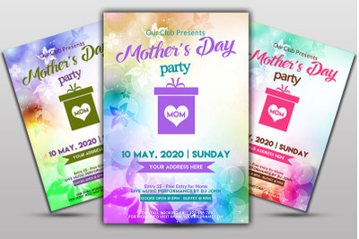 Mother day party