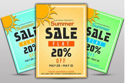 Flat Sale Flyer