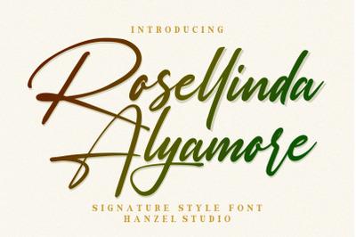 Rosellinda Alyamore -DISCOUNT 50%-
