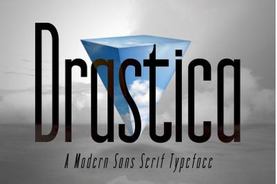 DRASTICA: A Modern Typeface