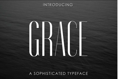 GRACE: A Sophisticated Typeface
