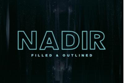 Nadir Typeface