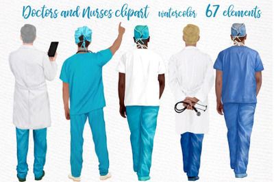 Doctors clipart,Nurses Scrubs,Doctors scrubs,Medical clipart