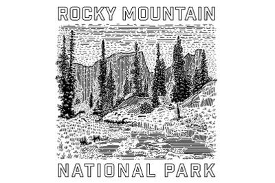Rocky Mountain National Park Icon
