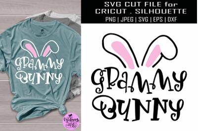 Grammy bunny svg, easter shirt svg