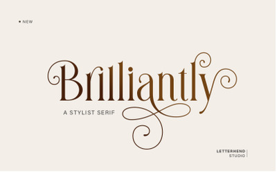 Brilliantly - A Stylish Serif