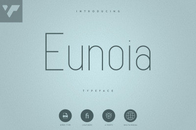 Eunoia - Sans Serif Typeface