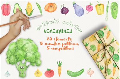Funny vegitables