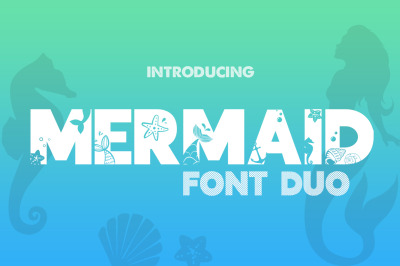 Mermaid Font Duo