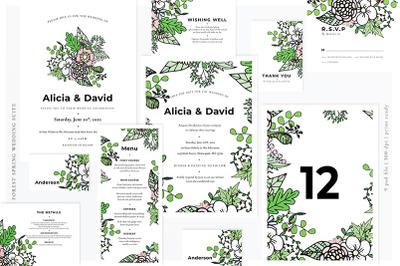 Forest Spring Wedding Suite