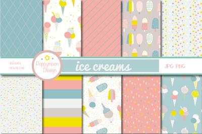 ice cream papers