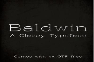 Baldwin Typeface